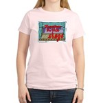 Thespians Do It On Stage Women's Pink T-Shirt