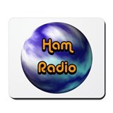 Ham Radio (earth) Mousepad