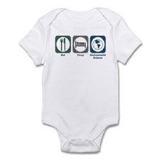 Eat Sleep Environmental Science Infant Bodysuit