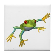 Tree Frog #2 Tile Coaster