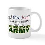 Got Freedom? Army (Husband) Mug