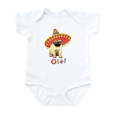 Fiesta Pug Onesie