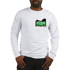 NOSTRAND AVENUE, BROOKLYN, NYC Long Sleeve T-Shirt