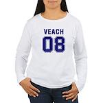 Veach 08 Women's Long Sleeve T-Shirt