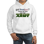 Got Freedom? Army (Son) Hooded Sweatshirt