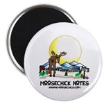 "Moosechick Notes 2.25"" Magnet (10 pack)"