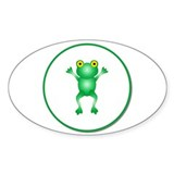 Frogs Stickers & Flair