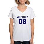 WHEATLEY 08 Women's V-Neck T-Shirt