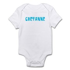 Cheyanne Faded (Blue) Infant Bodysuit