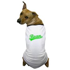 Retro Bean (Green) Dog T-Shirt