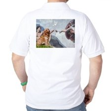 Creation of Golden Retreiver T-Shirt