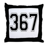 367 Throw Pillow