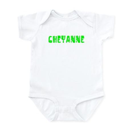 Cheyanne Faded (Green) Infant Bodysuit