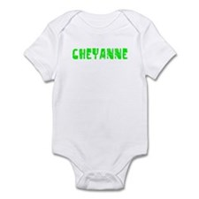 Cheyanne Faded (Green) Infant Bodysuit
