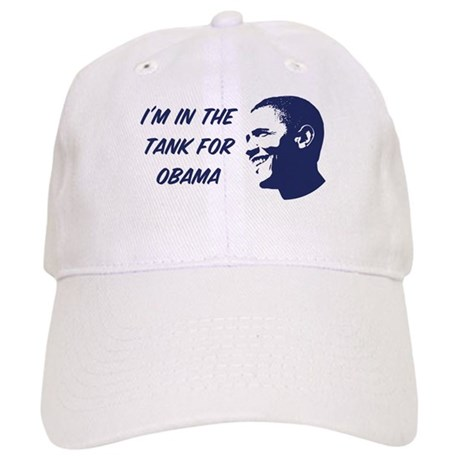 I'm in the tank for Obama Cap