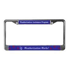 WAP License Plate Frame