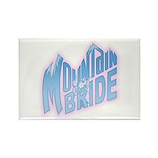 Mountain Bride Rectangle Magnet
