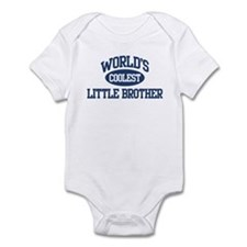 World's Coolest Little Brothe Onesie