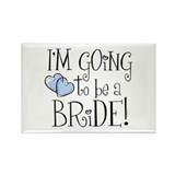 Heart Bride Rectangle Magnet