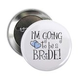 "Heart Bride 2.25"" Button"