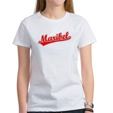 Retro Maribel (Red) Tee