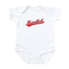 Retro Maribel (Red) Infant Bodysuit