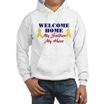 Welcome Home Soldier Hooded Sweatshirt