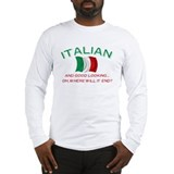 Gd Lkg Italian 2 Long Sleeve T-Shirt