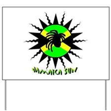 Jamaican Sun Yard Sign