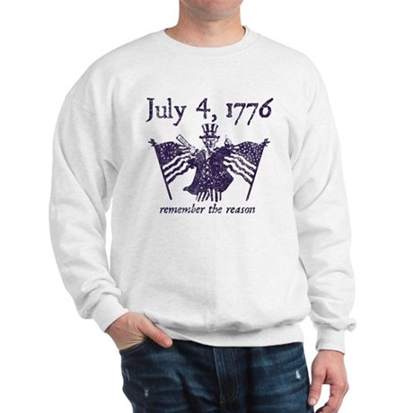 July 4th - monochrome Sweatshirt