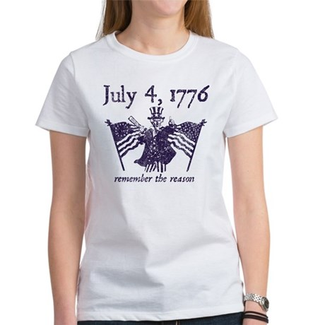 July 4th - monochrome Women's T-Shirt