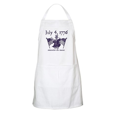 July 4th - monochrome BBQ Apron