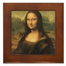 Mona Lisa Framed Tile