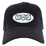 Eat Sleep Drywall Baseball Hat
