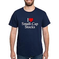 """""""I Love (Heart) Small-Cap Stocks"""" T-Shirt"""