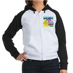40th Birthday Women's Raglan Hoodie