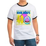 40th Birthday Ringer T