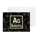 AGNOSTIC RETRO Greeting Cards (Pk of 20)