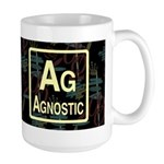 AGNOSTIC RETRO DARK Large Mug