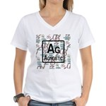 AGNOSTIC RETRO Women's V-Neck T-Shirt