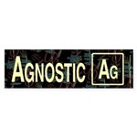 AGNOSTIC RETRO Bumper Sticker (10 pk)