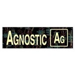 AGNOSTIC RETRO Bumper Sticker