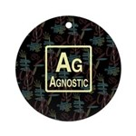 AGNOSTIC RETRO Ornament (Round)