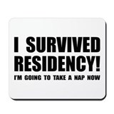 Residency Survivor Mousepad