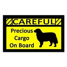 Precious Cargo Bernese Mtn Dog Sticker (Rect)