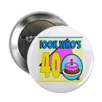 40th Birthday Button