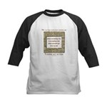 My Autism Does Not Define Me Kids Baseball Jersey