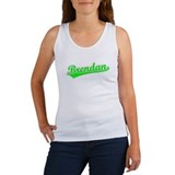 Retro Brendan (Green) Women's Tank Top