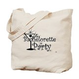 Black C Martini Bachelorette Tote Bag