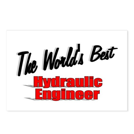 &quot;The World's Best Hydraulic Engineer&quot; Postcards (P